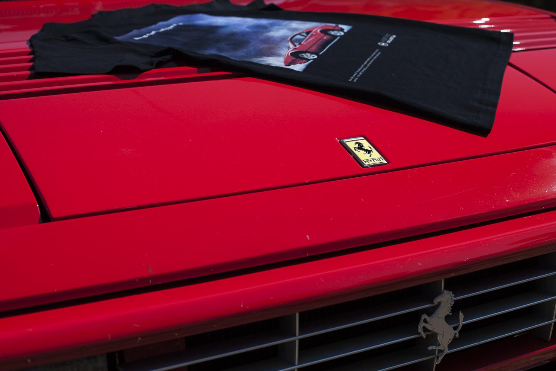 Agence Collection Ferrari 308 GTB Vintage Ad T-Shirt